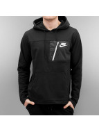 Nike Hoodie NSW AV15 PO FLC svart