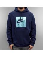 Nike Hoodies NSW PO FLC Air Hrtg blå