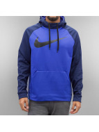 Nike Hoody Therma Training blau
