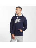 Nike Hoody GX2 Fleece blau