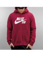 Nike Hoody Icon rot