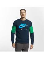 Nike Air Parted Sweatshirt Obsidian/Neptune Green/Photo Blue