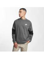 Nike Sportswear Advance 15 Fleece Sweatshirt Charcoal Heather/Black/Black/White
