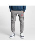 Nike Joggebukser Air Fleece grå