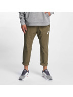 Nike AV15 Pants WVN Medium Olive/Black/White
