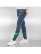 Nike Legging W NSW Logo Club blau