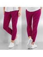 Nike Legging Club Crop AOP2 pink