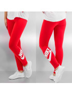 Nike Legging Leg-A-See Logo rood