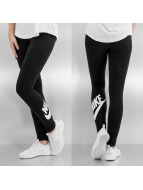 Nike Leggings/Treggings Leg-A-See Logo czarny