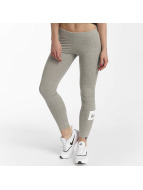 Nike Leggings/Treggings Sportswear Club Swoosh szary