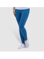 Nike Club Printed Leggings Light Photo Blue/White