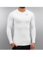 Nike Longsleeve Pro wit
