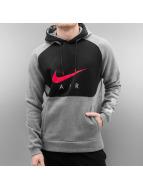 Nike Mikiny NSW PO BB Air Hyp šedá