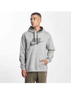 Nike Mikiny GX2 Fleece šedá