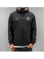 Nike Övergångsjackor Paris Saint-Germain svart