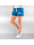 Nike Pantalón cortos Gym Vintage azul