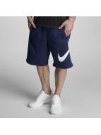 Nike Pantalón cortos FLC EXP Club azul