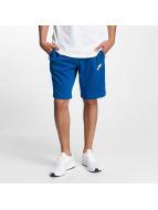 Nike AV15 Fleece Shorts Blue Jay/Black/White