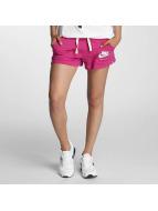 Nike Pantalón cortos NSW Gym Vintage fucsia