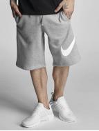 Nike Pantalón cortos FLC EXP Club gris