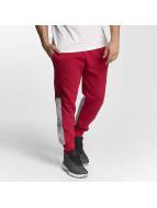 Jordan Flight Fleece Cement Sweatpants Gym Red