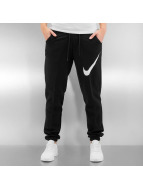 Nike Pantalone ginnico W NSW FLC REG GFX1 nero