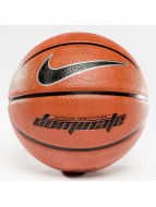 Nike Dominate 8P Basketball Dark Amber/Black/Metallic Platinum/Black
