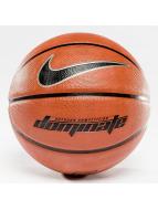 Nike Dominate 8P Basketball Dark Amber/Black/Metallic Platinum/Black