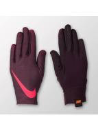 Nike Pro Warm Womens Liner Gloves Port Wine/Port Wine/LT Fusion Red