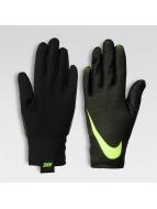 Nike Pro Warm Womens Liner Gloves Black/Black/Volt