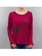 Nike Pitkähihaiset paidat NSW GX punainen