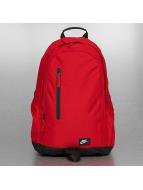 Nike Plecaki All Access Fullfare czerwony