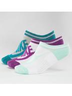 Nike Ponožky Sportswear Striped No-Show pestrá