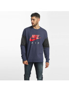 Nike Pullover Parted blau