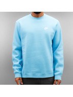 Nike Pullover NSW FLeece Club bleu