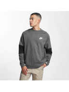 Nike Pullover Sportswear Advance 15 Fleece grau