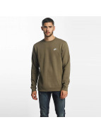Nike Pullover NSW FLeece Club olive