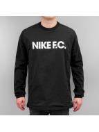 Nike Pullover F.C. schwarz