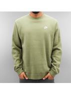 Nike Pullover NSW FLeece Club vert