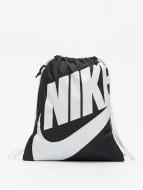 Nike Heritage Gym Sack Black/White/White