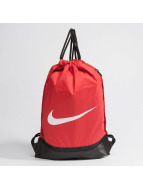 Nike Sac à cordons Brasilia Training rouge