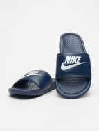 Nike Benassi JDI Sandals Midnight Navy/Windchill