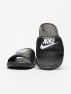 Nike Sandales Benassi JDI noir