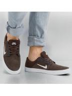 Nike SB Сникеры Portmore коричневый