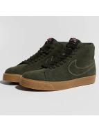Nike SB Zoom Blazer Mid Skateboarding Sneakers Sequoia/Sequoia/Medium Olive/Black