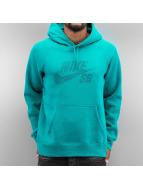 Nike SB Bluzy z kapturem SB Icon Dots zielony