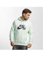 Nike SB Bluzy z kapturem SB Icon zielony