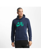 Nike SB Hoodies SB Icon mavi
