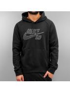 Nike SB Hoody Icon Grid Fill zwart