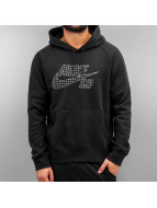 Icon Grid Fill Hoody Bla...